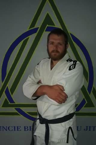 Muncie Brazilian Jiu Jitsu's coach Max Burt.